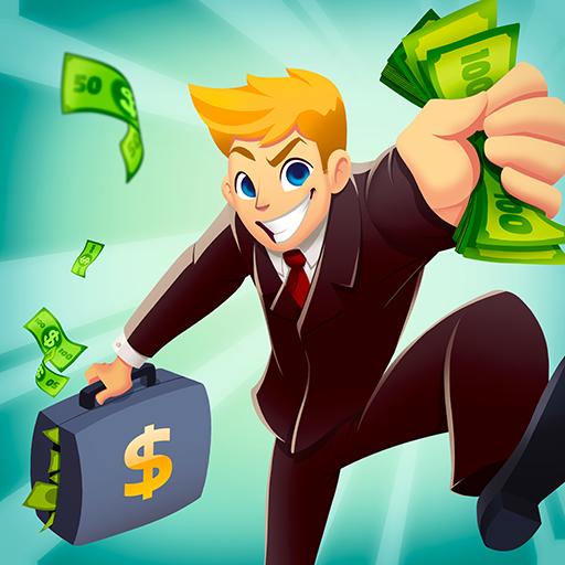 Burger Clicker 🍔 Idle Money Billionaire Business (game)