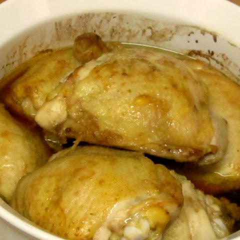 Simple Casseroled Chicken