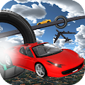 Extreme Tracks Racing Stunts :Ultimate Flying Cars APK for Bluestacks
