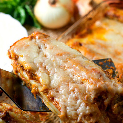 Meat Lovers Manicotti Stracotto-Style