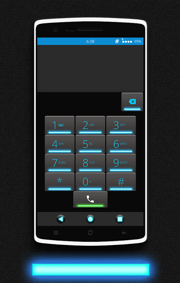 Glow CM13 CM12/12.1 Theme Screenshot 2