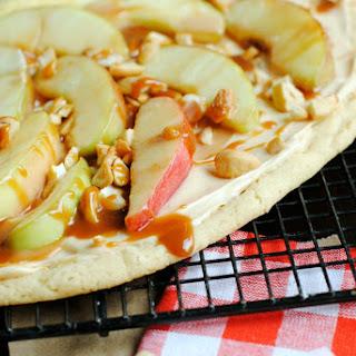 Sugar Cookie Apple Pizza Recipes