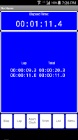 Screenshot of OneTouch Alarmclock & Timer