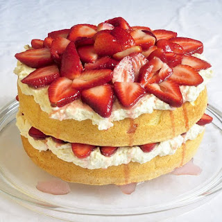 White Chocolate Strawberry Shortcake Recipes