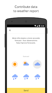Free Download Yandex.Weather APK for Samsung