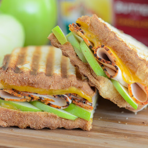 Apple, Cheddar & Turkey Panini
