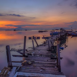 Sunrise at Expressway Jelutong, Penang Malaysia by Adi Affendi - Landscapes Sunsets & Sunrises