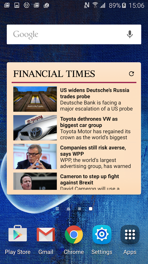 Financial Times Screenshot 1