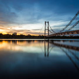Putrajaya by 3rd eye Monster - Landscapes Sunsets & Sunrises ( canon6d, putrajaya, bridge, canon24-105mm )