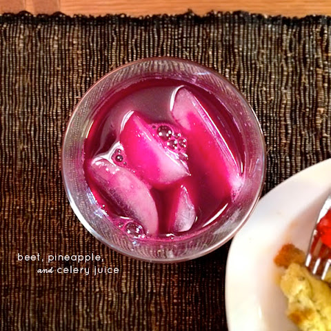 Beet, Pineapple and Celery Juice