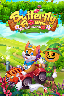 Butterfly Flower Free Match for pc