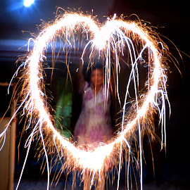 by Neha Shah  - Abstract Fire & Fireworks