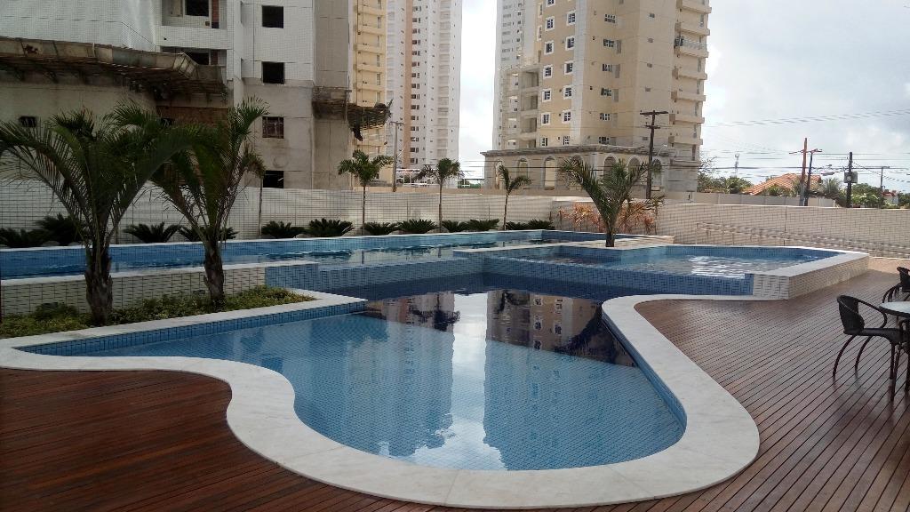 Apartamento com 2 dormitórios à venda, 72 m² por R$ 440.000 - Altiplano - João Pessoa/PB