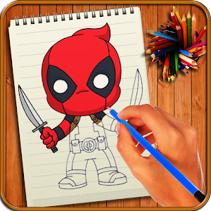 Learn to Draw Cute Little Super Heroes For PC
