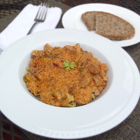 Pork and Sauerkraut Goulash / Szekelygulyas / Hungarian Goulash