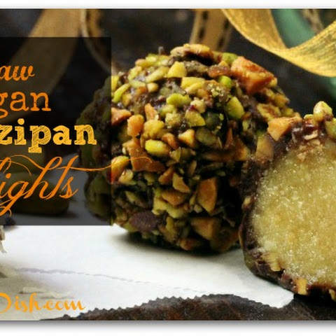 Raw Vegan Marzipan Delights