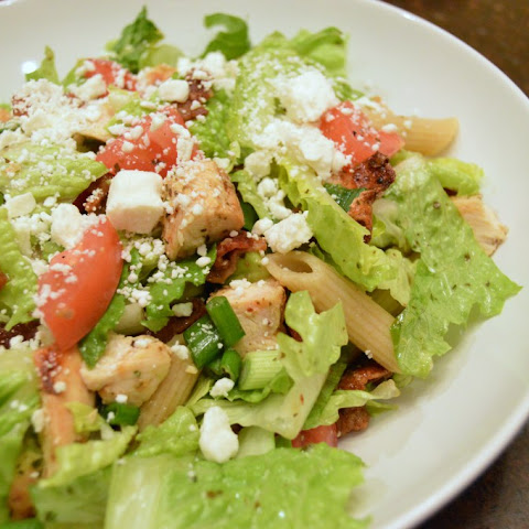 Chopped Chicken Bacon Avocado Salad