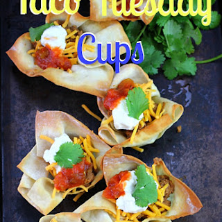 Taco Tuesday Cups