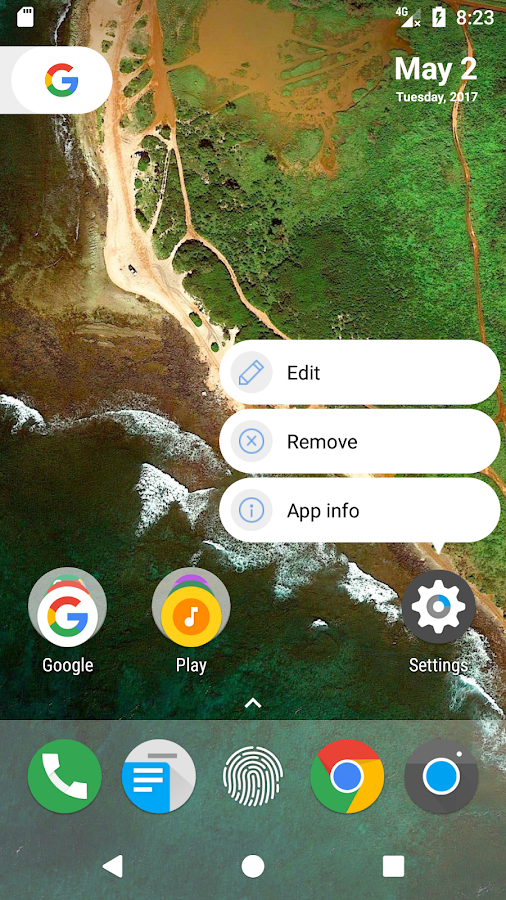 N Launcher Pro - Nougat 7.0 Screenshot 2