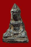 พระร่วงนั่ง กรุม่วงค่อม สนิมแดง จ.ลพบุรี (ที่1 3ใบประกาศ) สวยๆๆ