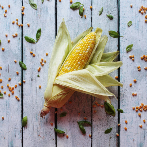 Sweet Basil Corn on the Cob