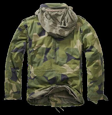 Куртка M65 GIANT - Brandit - камуфляж шведский
