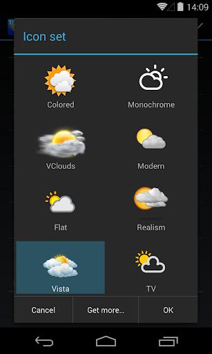 Chronus: Vista Weather Icons screenshot 1