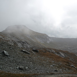 by Serguei Ouklonski - Landscapes Cloud Formations ( clouds, mountain, peak, natural elevation )