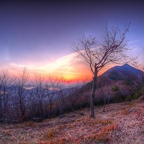 Amindong San by Ryo SiNaga - Landscapes Sunsets & Sunrises