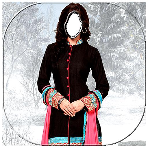 Stylish Churidar Photo Frames 2018 (app)