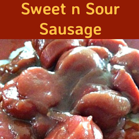 Slow Cooker Sweet n Sour Sausage