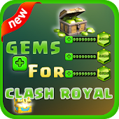 ?? Gems of Clash Royale: Prank Icon