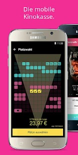 CineApp - Die Kinoticket App Screenshot