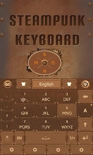 Steam-Punk-GO-Keyboard-Theme 1