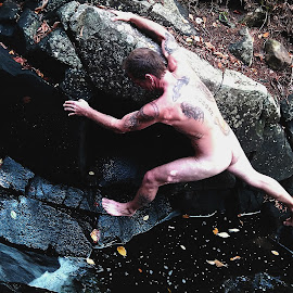 Running Wild by Rob O'Connell - Nudes & Boudoir Artistic Nude ( adventure, forrest, nude, nature )