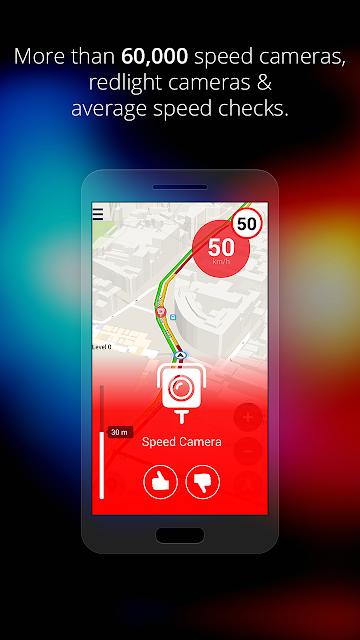 Speed Cameras & Traffic Sygic screenshots