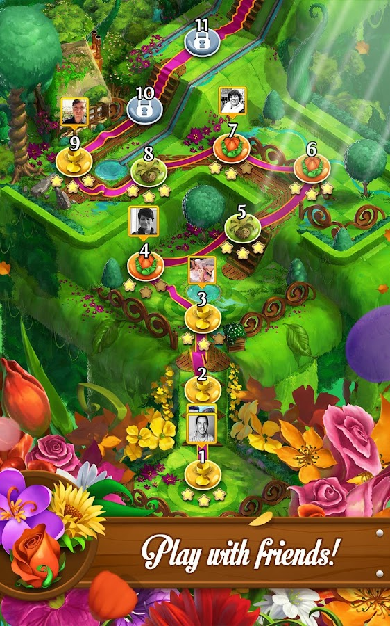 Blossom Blast Saga Screenshot 15