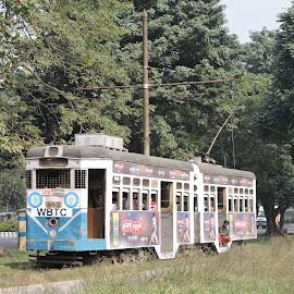 Tram by Kambala Rajesh - Transportation Other