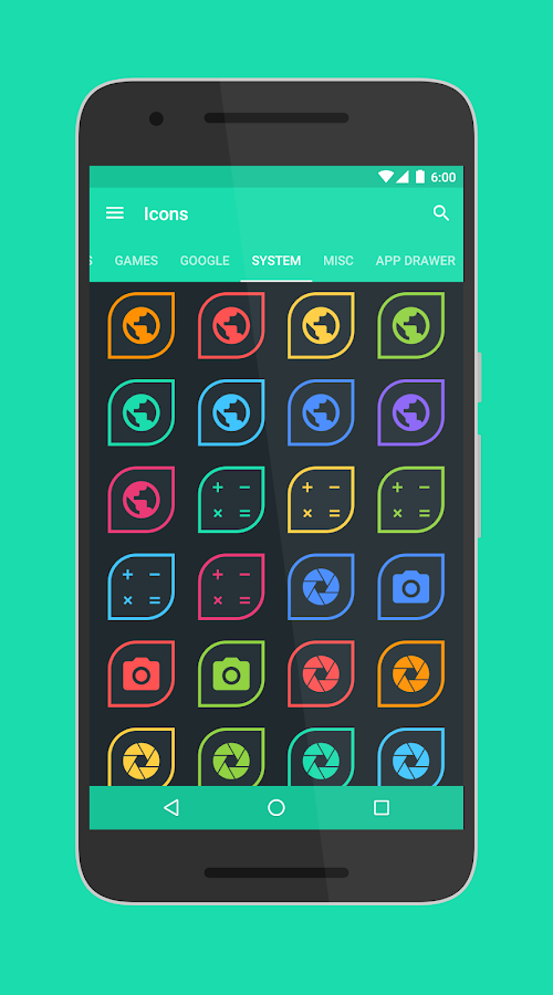 Folium - Icon Pack Screenshot 8