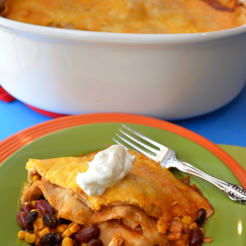 Crock-Pot Chicken Enchiladas-Recipe