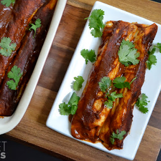 Chicken (or Turkey) Green Chile Enchiladas