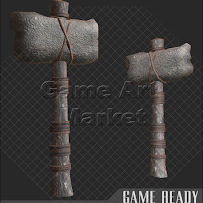 [Game Ready] Stone Hammer