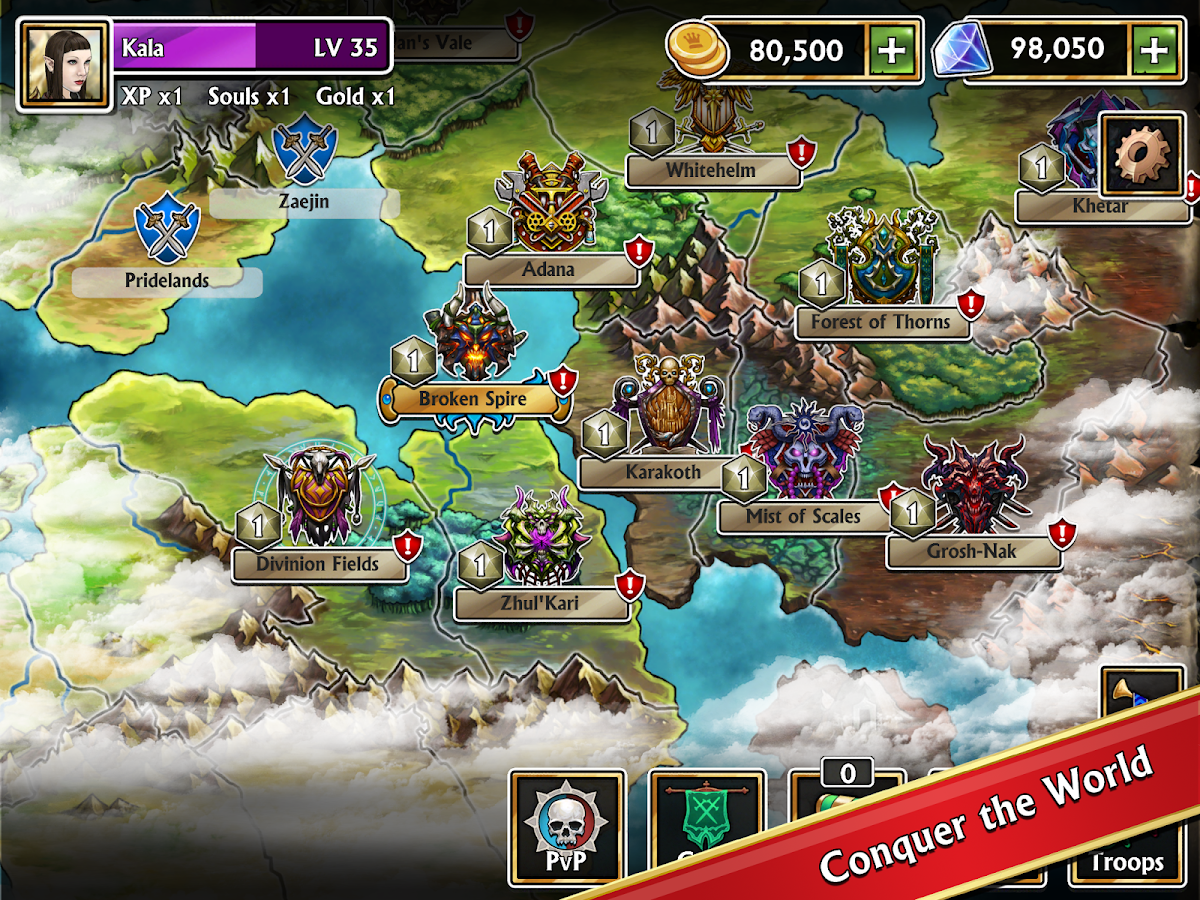 Gems of War Screenshot 5