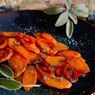 Glazed Carrots with Sage