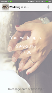 Wedding is in... - screenshot