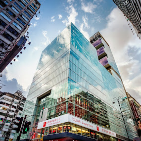 Business Time by Gema Goeyardi - Buildings & Architecture Office Buildings & Hotels ( hong kong, building, business )