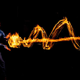 Haduken! by Adam Snyder - Abstract Fire & Fireworks