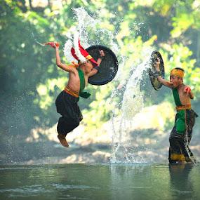 jump n splash by Ramadhan Bagaskara Arya Parmuka - Babies & Children Children Candids ( caci )