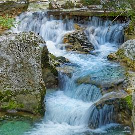 Cascades 2 by Michaela Firešová - Nature Up Close Water ( water, cascades )
