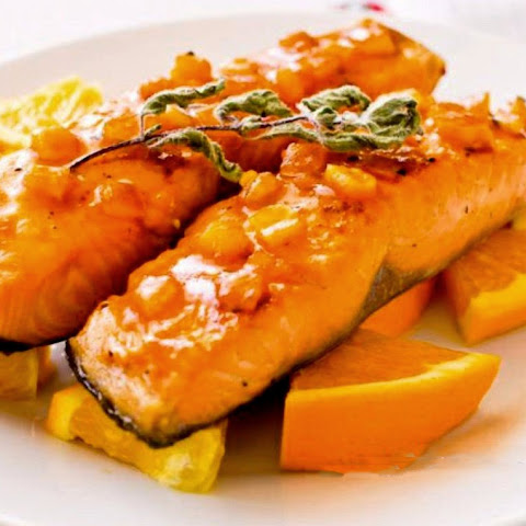 Salmon With Orange Marmalade